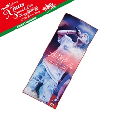 【X'mas Special Live Goods】両面フェイスタオル(RED)